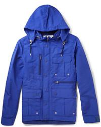 Синяя полевая куртка