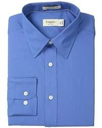 синяя рубашка с длинным рукавом original 359550
