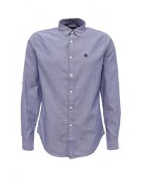Мужская синяя рубашка с длинным рукавом от SPRINGFIELD