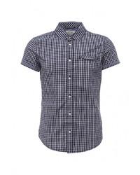 Мужская синяя рубашка с коротким рукавом от Alcott