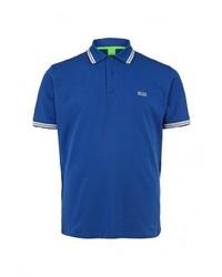 Мужская синяя футболка-поло от Boss Green