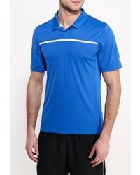 Мужская синяя футболка-поло от Wilson