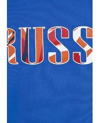 Мужская синяя футболка с круглым вырезом с принтом от Umbro