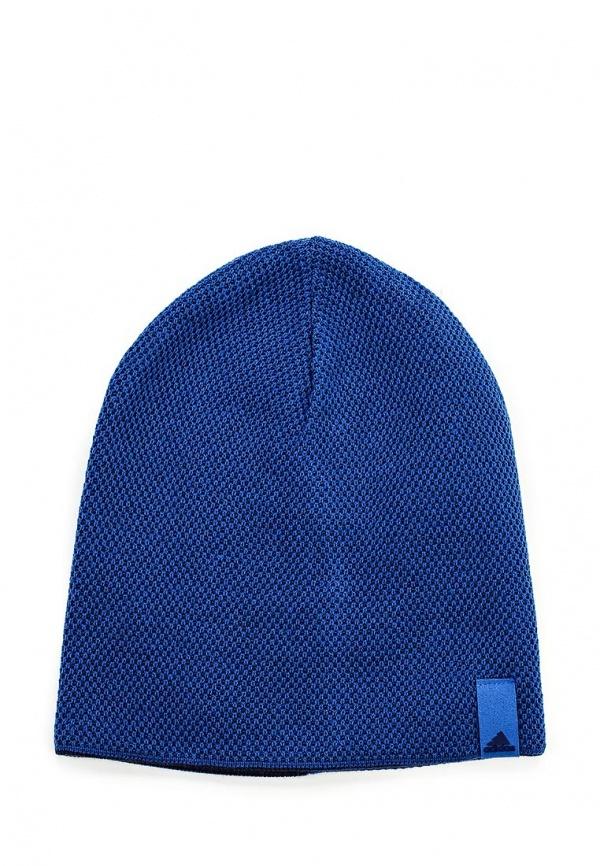 Мужская синяя шапка от adidas Performance