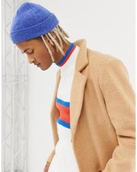Мужская синяя шапка от ASOS DESIGN