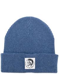Мужская синяя шапка от Diesel