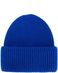 Мужская синяя шапка от Golden Goose Deluxe Brand
