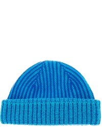Мужская синяя шапка от Paul Smith