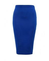 Синяя юбка-карандаш от Edge Clothing