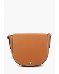 Табачная кожаная сумка через плечо от Marks & Spencer