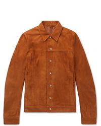Табачная куртка-рубашка