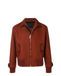 Мужская табачная куртка-рубашка от Prada