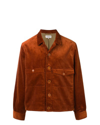 Мужская табачная куртка-рубашка от YMC