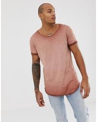 Мужская табачная футболка с круглым вырезом от ASOS DESIGN