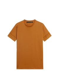 Мужская табачная футболка с круглым вырезом от Mackintosh 0003