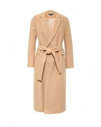 Женское табачное пальто от Topshop