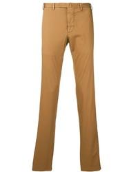 Табачные брюки чинос от Dell'oglio