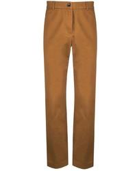 Табачные брюки чинос от Gucci