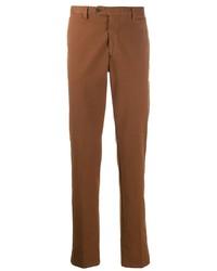 Табачные брюки чинос от Lardini