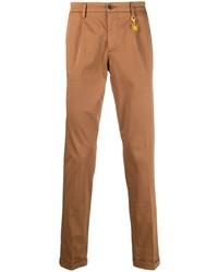 Табачные брюки чинос от Manuel Ritz