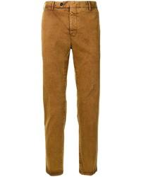Табачные брюки чинос от Pt01