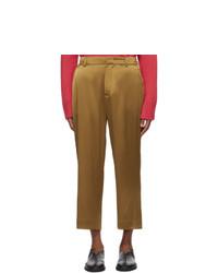 Табачные брюки чинос от Sies Marjan