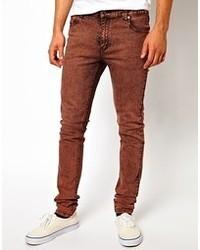 Мужские табачные джинсы от Cheap Monday