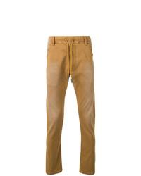 Мужские табачные джинсы от Diesel