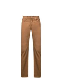 Мужские табачные джинсы от Naked And Famous