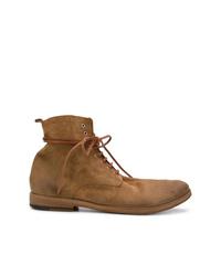 Мужские табачные замшевые повседневные ботинки от Marsèll