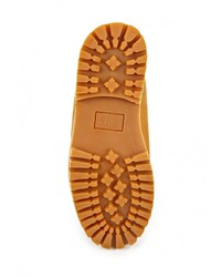 Мужские табачные замшевые рабочие ботинки от Camelot