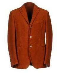 Табачный хлопковый пиджак