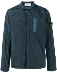Темно-бирюзовая куртка-рубашка