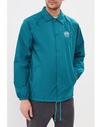 Мужская темно-бирюзовая куртка-рубашка от Vans