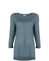 Женская темно-бирюзовая футболка с длинным рукавом от Filippa K