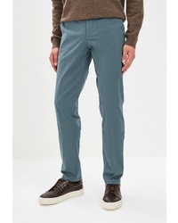 Темно-бирюзовые брюки чинос от BAWER