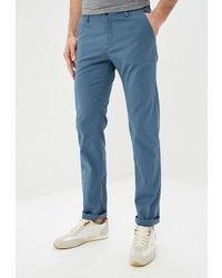 Темно-бирюзовые брюки чинос от BOSS HUGO BOSS