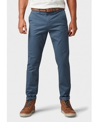 Темно-бирюзовые брюки чинос от Tom Tailor Denim