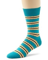 Темно-бирюзовые носки