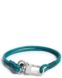 Темно-бирюзовый браслет