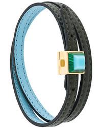Темно-бирюзовый браслет от Fendi