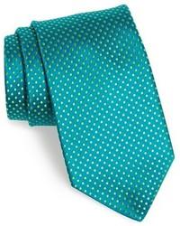 Темно-бирюзовый галстук