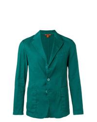 Мужской темно-бирюзовый пиджак от Barena