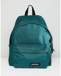 Темно-бирюзовый рюкзак из плотной ткани