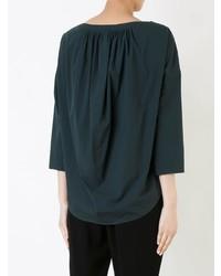 1533b07db08 ... Темно-зеленая блузка с длинным рукавом от Enfold ...