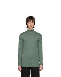Мужская темно-зеленая водолазка от Lemaire
