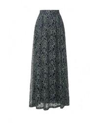 Темно-зеленая длинная юбка от Elena Shipilova