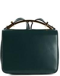 c0df724ad595 Купить женскую темно-зеленую кожаную сумку - модные модели сумок ...
