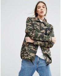 куртка в стиле милитари medium 850934
