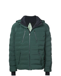 Мужская темно-зеленая куртка-пуховик от Aztech Mountain